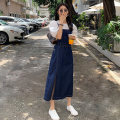 Dress Summer 2021 longuette singleton  Sleeveless commute High waist Solid color Condom A-line skirt camisole 18-24 years old Type A Jimeng GT2-BF210A-8044 More than 95% other S,M,L,XL,XXL