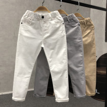 trousers Other / other male Light gray, white, pure black, light khaki, white, black, coffee, khaki, navy blue, orange spring and autumn trousers Korean version No model Casual pants Leather belt High waist Pure cotton (100% content) Don't open the crotch Cotton 100% Class B Chinese Mainland