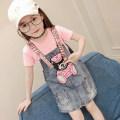 Dress Pink female Funny 110cm,120cm,130cm,140cm,150cm,160cm Other 100% summer Korean version Strapless skirt Cartoon animation other Strapless skirt LQ-5104 Class B Three, four, five, six, seven, eight, nine, ten, eleven, twelve Chinese Mainland Zhejiang Province Huzhou City