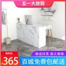 Cashier 80x50x90cm,100x50x90cm,120x50x90cm,140x50x90cm,160x50x90cm,180x50x90cm,200x50x90cm,240x50x90cm Disassembly manmade board Simple and modern Art Frame structure Particleboard / melamine board