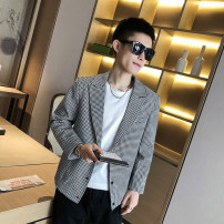 Jacket Other / other Youth fashion Grey, brown M. L, XL, 2XL, 3XL, s small, XS plus small routine Self cultivation Other leisure autumn Long sleeves tide youth routine Single breasted Round hem No iron treatment other Digging bags with lids