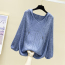 Wool knitwear Spring 2020 S M L XL elbow sleeve singleton  Socket other More than 95% Regular Thin money commute Bat type Hood Bat sleeve Solid color Socket Korean version 25-29 years old Feibasha Other 100% Pure e-commerce (online only)