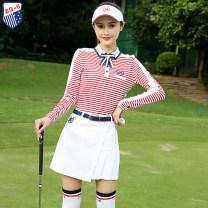 Golf apparel S,M,L,XL,XXL female ZG-6 Long sleeve T-shirt