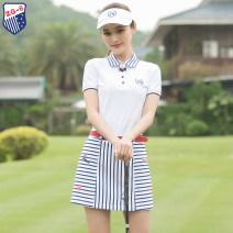 Golf apparel The coat is white S,M,L,XL female ZG-6 t-shirt  Y9832