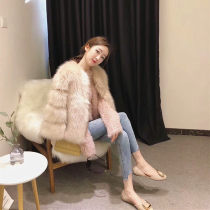 leather and fur Winter of 2018 Le Rongyuan Apricot S M L XL have cash less than that is registered in the accounts Nine point sleeve Imitation fur 18-24 years old