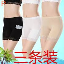 Leggings Summer 2020 2 Pack [black + black] with pocket, 2 Pack [skin color + skin color] with pocket, 2 Pack [black + skin color] with pocket M,L,XL Thin money shorts 25-29 years old Other / other pure cotton 91% (inclusive) - 95% (inclusive)