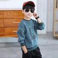 Sweater / sweater Hip hop Genie male 110cm 120cm 130cm 140cm 150cm 160cm spring and autumn nothing leisure time Socket routine There are models in the real shooting other Solid color Other 100% Class B Spring 2020