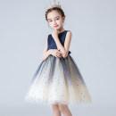 Children's dress female 110cm 120cm 130cm 140cm 150cm 160cm Princess deedu Evening dress Class B Summer 2021 12 months, 3 years, 4 years, 5 years, 6 years, 7 years, 8 years, 9 years, 10 years, 11 years, 12 years, 13 years, 14 years princess