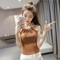 Vest sling Summer of 2018 White black grey Khaki Average size singleton  routine camisole Solid color 25-29 years old 30% and below nylon Rorafina / Lucina Pure e-commerce (online only)