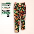 Casual pants 01 color 02 color 03 color 04 color 05 color XL 2XL 3XL Summer 2016 trousers Haren pants Natural waist Sweet routine WK-B1013 Countryside