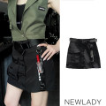 skirt Autumn 2020 S,M,L black Short skirt Versatile Natural waist other Solid color Type A 30-34 years old Other / other