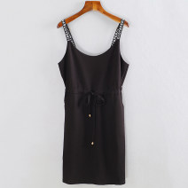 Dress Summer of 2019 4207 black, 4207 white with small holes, 4207 black with small holes M, L