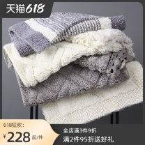 Mat Cotton Hand washable and machine washable Finished floor mat (yuan / piece) Household Bathroom Simple and modern Amarelle / Emile mat07  100%  Autumn 2020 India 50CM×80CM