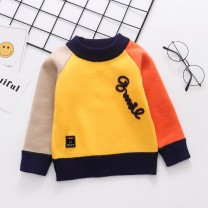 Sweater / sweater 80cm,90cm,100cm,110cm,120cm,130cm,140cm,150cm other male Other / other leisure time No model Socket Plush Crew neck nothing Fine wool Cartoon animation Class B 6 months, 12 months, 9 months, 18 months, 2 years old, 3 years old, 4 years old, 5 years old, 6 years old Chinese Mainland