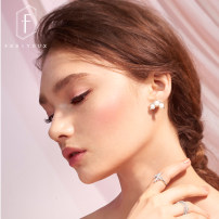 Ear Studs 401-500 yuan Fapoya Alloy / Silver / Gold 15# multiple pearl studs Europe and America brand new Spot Freshly baked other other 15 SE - D0370T Summer of 2018 Pure electricity supplier (only online sales) No