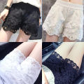 Casual pants S,M,L,XL,2XL,3XL Summer 2020 shorts Natural waist street routine 25-29 years old 71% (inclusive) - 80% (inclusive) Lace stitching polyester fiber