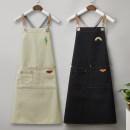 apron Sleeveless apron antifouling Korean version canvas Personal washing / cleaning / care Average size Anli Baoyi public no coulorful