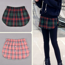 skirt Winter 2020 One size fits all XL XXL Green plaid, Pink Plaid Short skirt Versatile Natural waist A-line skirt lattice Type A 25-29 years old zyb013 51% (inclusive) - 70% (inclusive) other Left and right polyester fiber Polyester 60.1% cotton 39.9% Pure e-commerce (online only)