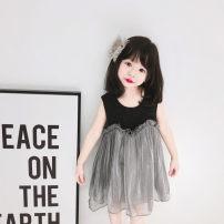 Children's dress As shown in the picture female Little seven baby full dress Class A silk Cotton 90% viscose (viscose) 10% Britain