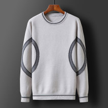 T-shirt / sweater Norther Youth fashion 1887 black 1887 white M L XL 2XL 3XL thickening Socket Crew neck Long sleeves NZ-1887 winter Slim fit 2020 leisure time tide youth routine Geometric pattern Winter 2020 No iron treatment Regular wool (10 stitches, 12 stitches) Pure e-commerce (online only)