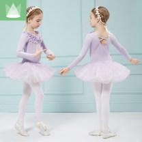 Children's performance clothes female Shang Pinlin Class B Ballet Cotton 94% polyurethane elastic fiber (spandex) 6% other Autumn of 2019 other