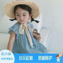Dress female Other / other 80cm,90cm,100cm,110cm,120cm,130cm Other 100% summer Korean version Skirt / vest Solid color other A-line skirt Class B 2 years old, 3 years old, 4 years old, 5 years old, 6 years old, 7 years old Chinese Mainland