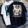 T-shirt Youth fashion routine S M L XL 2XL 3XL 4XL 5XL Ramo / rambling Short sleeve Crew neck easy Other leisure summer 20E755 Cotton 100% youth routine tide other Summer 2020 other printing cotton other No iron treatment Fashion brand More than 95%