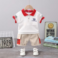 suit Mother and baby Crown short sleeve suit 80cm 90cm 100cm 110cm 120cm male summer leisure time Short sleeve + pants 2 pieces Thin money No model Socket nothing Solid color cotton c8788-xx-108 Class A 12 months 9 months 18 months 2 years 3 years 4 years 5 years 6 years old