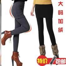 Leggings Winter 2017 S: 75-90 Jin, M: 90-105 Jin, l: 105-120 Jin, XL: 120-135 Jin, XXL: 135-150 Jin, 3XL: 150-170 Jin, no pilling, elastic 10-20 cm, 4XL: 170-190 Jin, pro, dark gray, no velvet color is lighter! thickening trousers 18-24 years old pure cotton