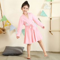 Home skirt / Nightgown Cheerleading Cotton 100% 1963 1969 1985 1996 1975 1970 1979 1964 2903 spring and autumn female Home Class B Pure cotton (100% cotton content) Autumn of 2019
