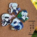Cartoon card / Pendant / stationery Badge / button Spell back Over 14 years old goods in stock Japan