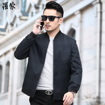 Jacket Romon / Romon Business gentleman Jk2021 black green jk2021 Tibetan blue jk2022 black green jk2022 Tibetan blue 170 175 180 185 190 195 routine standard Other leisure spring Jk2021 black green Polyester 100% Long sleeves Wear out Baseball collar Business Casual middle age routine Zipper placket