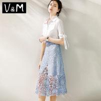 Fashion suit Summer 2020 S M L XL Picture color 18-25 years old V&M Cotton 70% polyamide fiber (nylon) 27% polyurethane elastic fiber (spandex) 3% Pure e-commerce (online only)