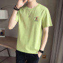 T-shirt Youth fashion thin M L XL 2XL 3XL 4XL First tone Short sleeve Crew neck easy motion summer TX88023-2 Cotton 100% routine tide Summer 2021 cotton No iron treatment Pure e-commerce (online only) More than 95%