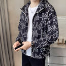 Jacket First tone Youth fashion 2115 black 2115 white M L XL 2XL 3XL thin easy outdoors summer 2115A Polyester 100% Long sleeves Wear out Hood tide routine Zipper placket No iron treatment Closing sleeve Summer 2021 Pure e-commerce (online only) polyester fiber More than 95%