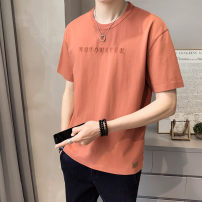 T-shirt Youth fashion Tx020 red tx020 blue tx020 white routine M L XL 2XL First tone Short sleeve Crew neck easy Other leisure summer TX020-1 Cotton 100% routine tide Summer 2021 cotton No iron treatment Pure e-commerce (online only) More than 95%