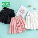 skirt B0406 E.U.V Cotton 95% polyurethane elastic fiber (spandex) 5% female 5 years old, 6 years old, 7 years old, 8 years old, 9 years old, 10 years old, 11 years old, 12 years old, 13 years old, 14 years old summer skirt Pleats Solid color motion cotton Class B Summer 2020 Pink black white