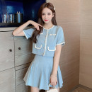 Fashion suit Summer 2020 S M L XL Yellow light blue 18-25 years old KITTYBOOTS KBS-TZ8805 Other 100% Pure e-commerce (online only)