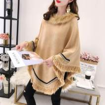 sweater Autumn 2020 S,M,L,XL,2XL Red, black, Navy, coffee, card, beige Long sleeves Socket singleton  Medium length other 30% and below Crew neck commute Solid color tassels