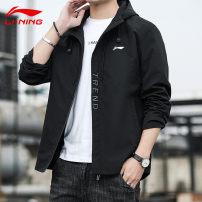Sports jacket / jacket Ling / Li Ning teenagers M 90-115, l 115-130, XL 130-140, 2XL 140-155, 3XL 155-170, 4XL 170-180, 5XL 180-200 L-1726 Grey, black, army green Winter 2021 Hood Brand logo Sports & Leisure Sports life