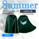 Cartoon T-shirt / Shoes / clothing Sweater Over 6 years old the attacking J517Titan goods in stock Cape green Cape black net hat wing of freedom [average size] NET hat attack character [average size] Small size [150 ~ 163cm] average size [164 ~ 173cm] large size [174 ~ 185cm] No season currency