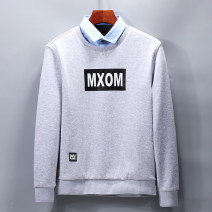 Sweater Fashion City Others Yaga 3tc002 grey 165,170,175,180,185,190 Solid color Socket Plush Lapel winter Slim fit leisure time youth like a breath of fresh air routine Ya 3tc002 P50 printing No iron treatment