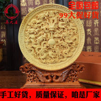 Wood carving other Boxwood Putian woodcarving circular engravure Neoclassical Yangzhiju yzj2016