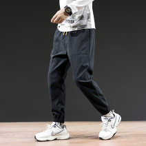 Casual pants Others Youth fashion Black, army green, orange, brown, coffee S,M,L,XL,2XL,3XL,4XL,XS routine trousers Other leisure Self cultivation Micro bomb autumn teenagers Youthful vigor 2019 middle-waisted Little feet Haren pants Pocket decoration No iron treatment cotton cotton Non brand