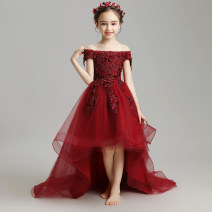 Children's dress female 100cm 110cm 120cm 130cm 140cm 150cm 160cm Geyaner full dress Class B other Viscose (viscose) 35.3% polyester 21.5% others 43.2% Winter of 2018