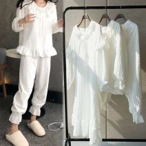 Other suits Autumn 2020 Top + pants [white], skirt [white] S,M,L,XL