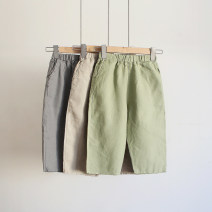 trousers Other / other neutral 100cm,110cm,120cm,130cm If bamboo green, light coffee color, lead gray Haren pants