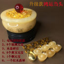 Ornaments Yellow Jade other Chinese style Tabletop ornaments Solicit wealth