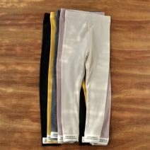 trousers The future female spring and autumn trousers Simplicity No model Leggings Leather belt middle-waisted other Don't open the crotch Other 100% Class B 2, 3, 4, 5, 6, 7, 8, 9, 10, 11, 12, 13, 14 years old Chinese Mainland