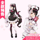 Cosplay women's wear suit Pre sale Over 14 years old Meet Lena at night (nurse dress), meet Lena at night (dress) Animation, games S,M,L,XL CGCOS Japan Lovely style, Maid Dress, imperial sister fan, otaku department, campus style Vtuber cosplay vtuber